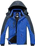 GEMYSE Chaqueta de esquí Impermeable de montaña para Hombre...