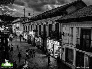 Calle peatonal Chiquinquirá