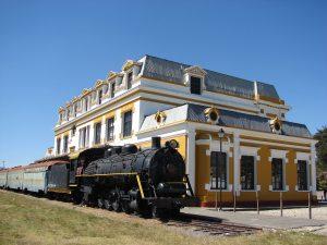 Palacio de la cultura Rómulo Rozo Antigua estación del Ferrocarril