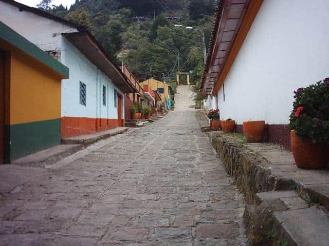 Calles de Zipacón