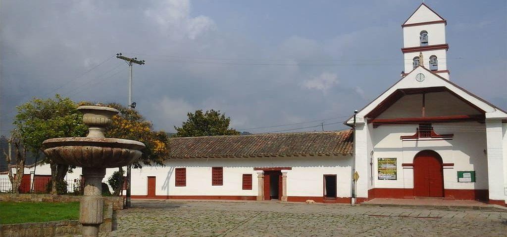 Plaza principal Zipacón