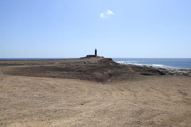Faro ubicado en el extremo mas meridional de la isla de Fuertevenura - Punta de Jandía