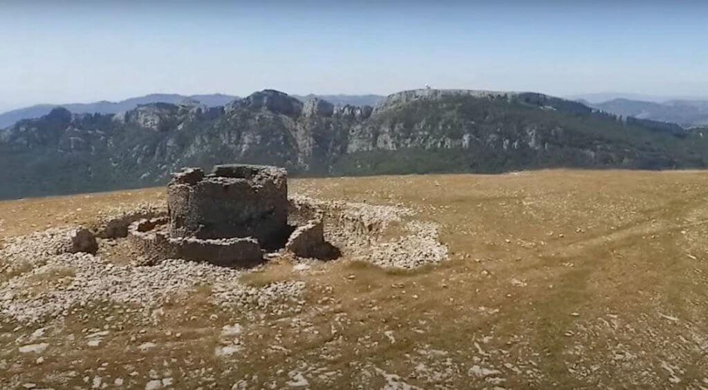 Castillo y la mola de colldejou