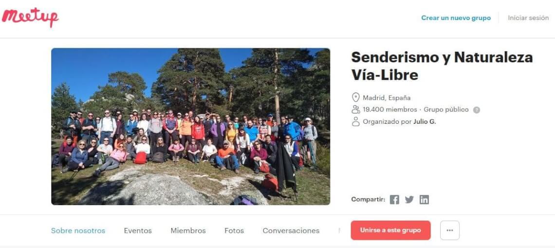 Senderismo y Naturaleza Vía-Libre Madrid