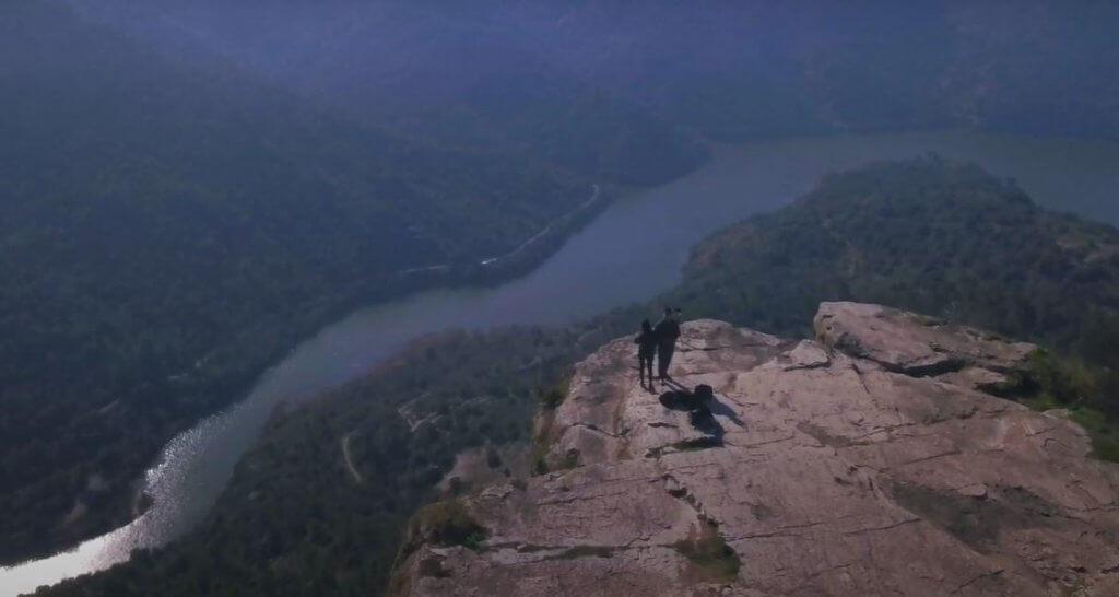 valle del río Siurana y su gran embalse.