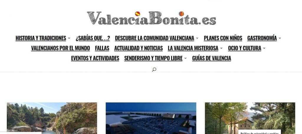 Valencia Bonita grupo de senderismo