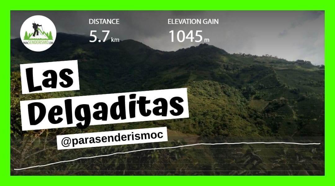 Ruta Senderismo Las Delgaditas Medellín
