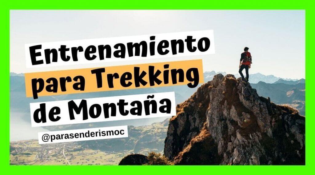 Entrenamiento para trekking de montaña
