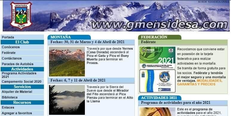 Grupo de Montaña Ensidesa Gijón - Grupos Senderismo Asturias