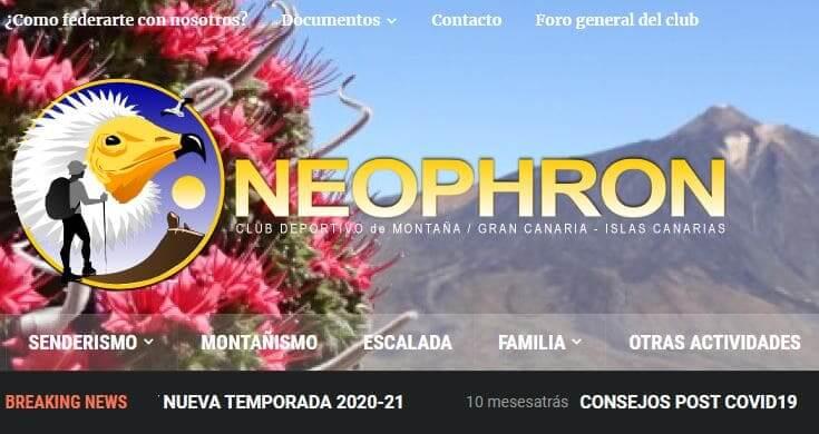 Neophron club deportivo de montaña Gran Canaria