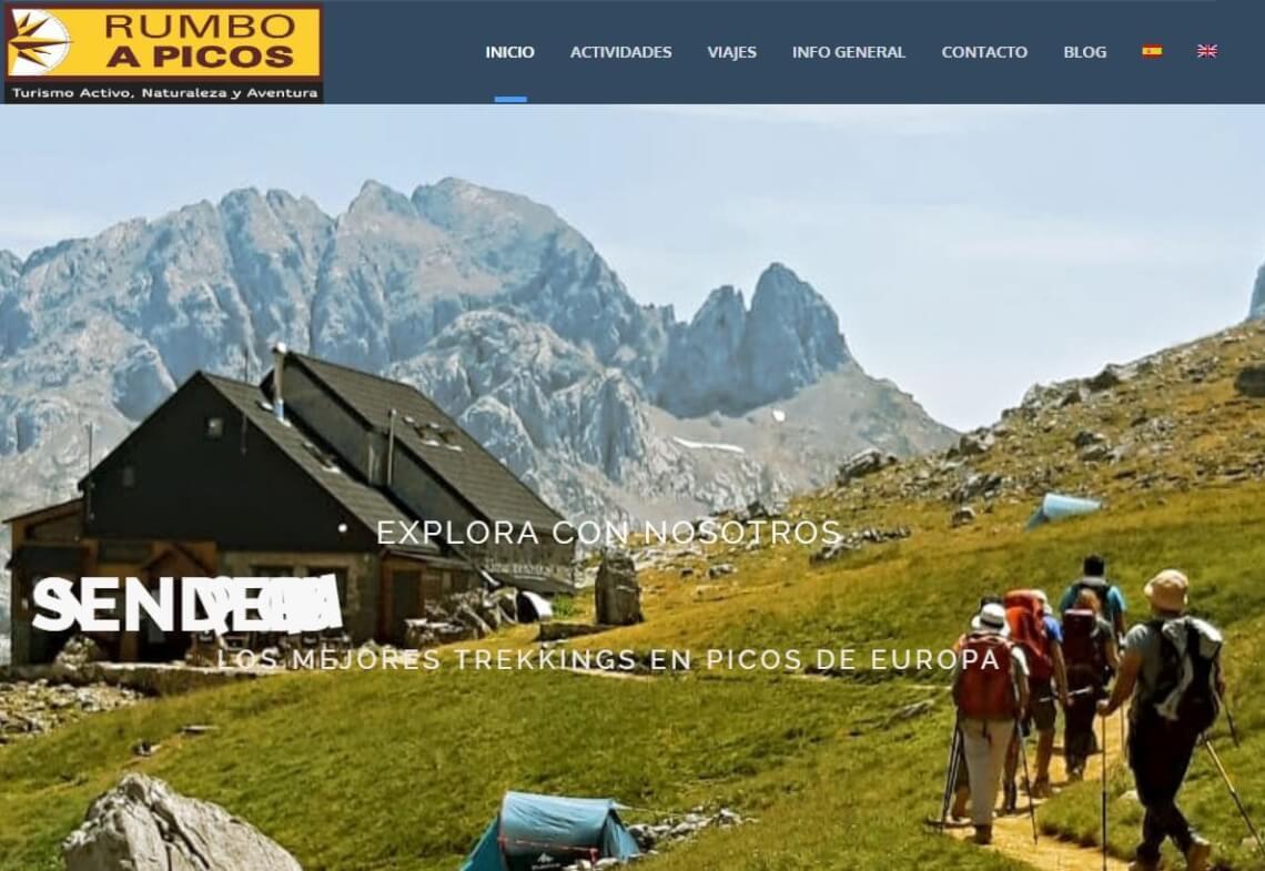 Rumbo a picos - Grupos Senderismo Asturias