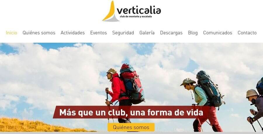 Club de montaña y escalada Verticalia Córdoba
