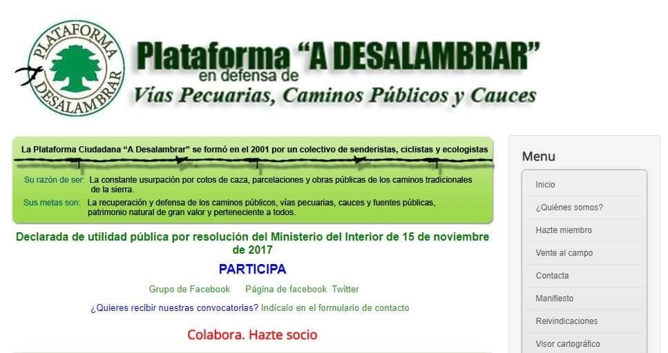 Grupo Senderismo Córdoba A Desalambrar